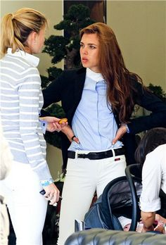 Charlotte Cashiragi with Athina Onassis Preppy Outfits, Preppy Style, Winter Outfits, Cool Outfits, Equestrian Chic, Equestrian Outfits, Ivy Style, Mode Style, Princess Charlotte Of Monaco