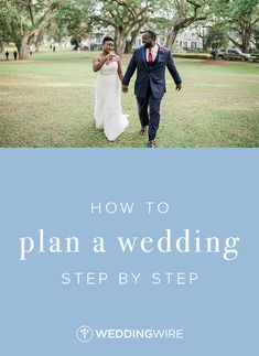 How to Plan a Wedding Step by Step - Ready to go into planning mode? Read how to plan a wedding step by step on WeddingWire!   {Blu Moose Photography}