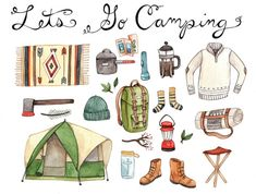 Hey, I found this really awesome Etsy listing at https://www.etsy.com/listing/122176015/lets-go-camping-print-85x11