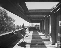 Sturges House. Frank Lloyd Wright. Usonian style. Brentwood, California, 1939