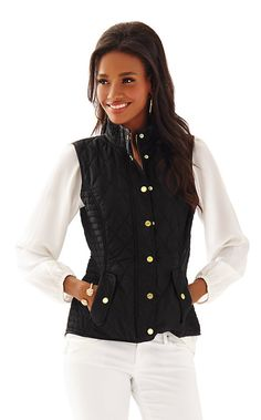 Blake Quilted Vest - Lilly Pulitzer