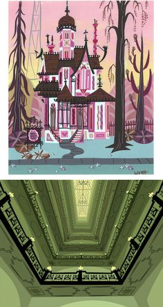 Fosters Home For Imaginary Friends Backgrounds. (Fosters-home-bgs-carol-02)