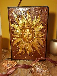 "Notebook ""SUNSHINE"" Notebooks, Sunshine, Decorative Boxes, Etsy, Vintage, Painting, Home Decor, Art, Craft Gifts"
