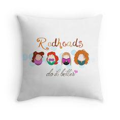 Red Head Disney Ladies by LaurasLovelies