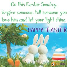 On this Easter Sunday, forgive someone. Tell someone you love him and let your light shine! Little Dolly, Outdoor Fun For Kids, Summer Activities For Kids, Children's Literature, Kid Spaces, Quotes For Kids, Gifts For Boys, Phonics, Pet Toys
