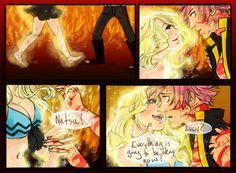 3 nalu end Natsu Und Lucy, Fairy Tail Natsu And Lucy, Fairy Tail Love, Fairy Tail Art, Fairy Tail Guild, Fairy Tail Ships, Fairy Tail Anime, Fairy Tales, Nalu Comics