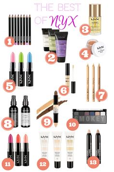 MandieLoves: The Best of NYX