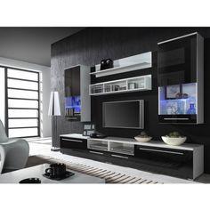 Living Room Units Modern melamine tv unit living room furniture china tv unit tv stand