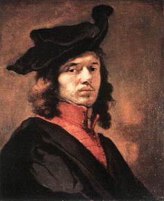 self portrait, Jan Vermeer, 1665, Flanders, Baroque