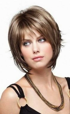 Layered Bob Haircuts With Bangs   Women Medium Haircut