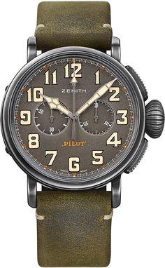 La Cote des Montres : Le Zenith – Andorra 500 repart ! La montre Heritage Pilot Ton-Up Edition marque le partenariat avec l'Andorra 500