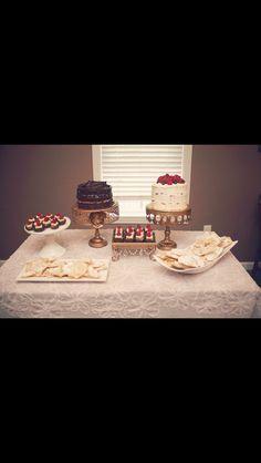 Rachel Ann Company Dessert catering & styling