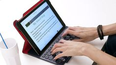 The Best iPad Keyboards BY EUGENE KIM , ANTONIO VILLAS-BOAS JUNE 5, 2014 An iPad keyboard/case combo can increase your productivity and protect your precious tablet while it travels. Here are the top models we've tested.
