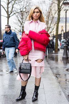 Make a beeline to the nearest drugstore, and pick up a pair of tights for the same amount you'd spend on a latte. See the looks that have us inspired.