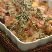 Crumble d'automne au bacon et fromage - une recette Entre amis - Cuisine