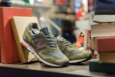 """New Balance Made in USA """"Authors"""" Collection Event Recap New Balance Sneakers, New Balance Shoes, Fashion Tights, Mens Fashion Shoes, New York Fashion, Teen Fashion, Fashion Trends, Soccer Outfits, Mr Style"""