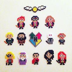 Harry Potter hama beads by billyholm