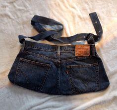 Jeanstasche — Crowdfunding bei wemakeit Fanny Pack, Bags, Fashion, Hip Bag, Handbags, Moda, Fashion Styles, Waist Pouch
