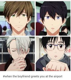 Victuuri / MakoHaru / #yoi #free #anime