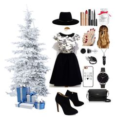 """""""Christmas party"""" by frankoero ❤ liked on Polyvore featuring Giuseppe Zanotti, Kate Spade, Natasha Accessories, Casetify, Zimmermann, BERRICLE, Bling Jewelry, Olivia Burton, Charlotte Tilbury and Chanel"""