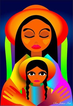 Jatun Inti, Sergio Daniel González Navajo Art, Mexico Art, Africa Art, Indian Art Paintings, Chicano Art, Southwest Art, Sewing Art, Naive Art, Mexican Folk Art