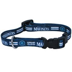 Hunter MFG Seattle Mariners Dog Collar, Medium ** To view further, visit now : Collars for dogs