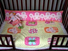 Repurpose crib bumper as pillow