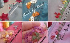 Yeni Yıla Özel Yeni İğne Oyası Modelleri Sewing, Knitting, Jewelry, Templates, Green Scarves, Needle Points, Needle Lace, Emerald Green, Grey Colors