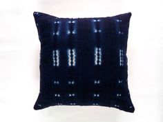 Hey, I found this really awesome Etsy listing at https://www.etsy.com/listing/472937563/indigo-mudcloth-pillow-cover-bogolanfini