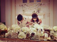 高砂席 装花 メインテーブル