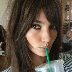 This roundup of your favorite celebrities and models wearing bangs will inspire you to get your own fringe this fall.