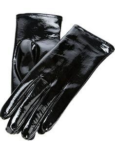 MAISON MARTIN MARGIELA Patent Leather Gloves