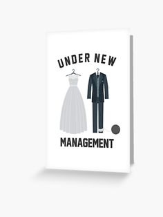 Under New Management is a great looking design for a great looking couple. Perfect gift for either the bride or groom on their wedding day. Or can be a funny gift for their engagement party. Gift suited to both men and women. If your friends are already married, buy it for their anniversary party.  #wedding #bride #groom #husband #wife #husbandandwife #marriage #celebrate #giftideas #fashion #onlineshopping #artsandcrafts #redbubble #art #redbubblecommunity #redbubbleshop #ad @giftsbyminuet Party Wedding, Wedding Bride, Wedding Day, Anniversary Parties, Husband Wife, Funny Gifts, Bride Groom, Arts And Crafts, Marriage