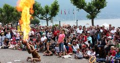 Can't miss Street performers festival! May Ascona! Official website of Lago Maggiore Tourist Office - 81168 Festivals, Mime Artist, Tourist Office, Leading Hotels, Seen, Small World, Street Artists, Rome, Dolores Park