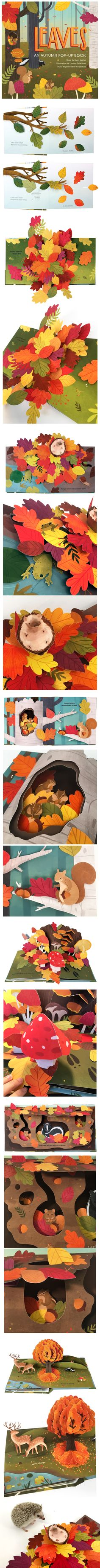 The autumn woodland is a beautiful and busy place! Leaves rustle, critters scurry, and mushrooms pop up from the forest floor. Amazing pop-ups, delightful interactive elements and fascinating facts offer change and surprise on every spread of this celebration of the fall season. Story by Janet Lawler, Illustration by Lindsay Dale-Scott, and Paper Engineering by Yoojin Kim.