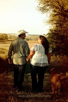 More of our country, vintage e pics :  wedding country engagement engagement pictures lace pets plus size vintage 491