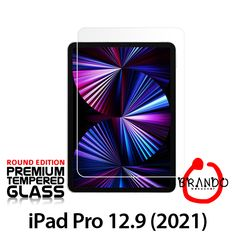 Brando Workshop Premium Tempered Glass Protector (Rounded Edition) (iPad Pro 12.9 (2021)) Phone Screen Protector, Glass Protector, Usb Gadgets, Ipad Pro 12 9, Workshop, Playing Cards, Atelier, Work Shop Garage, Playing Card Games