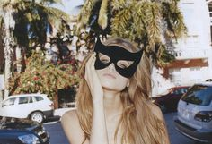 luella mask, abbey lee
