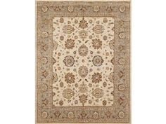 Brand: Kravet Carpet, SKU: Pecos - Ivory, Category: , Color(s):  Origin: Pakistan, Content:  Wool, Quality: Hand Knotted, 100 Knot CT.