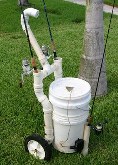 Homemade Gizmos - The Hull Truth - Boating and Fishing Forum -  beach and pier fishing cart