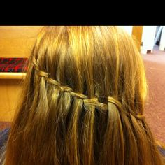 Emily Hoffman's hair :) I did it. It was  my first try :)