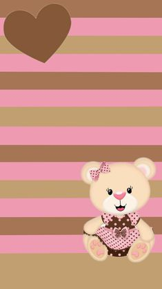 Pin by kathy 👗 beckwith 🌺 on hearts of love in 2019 обои, фон. Simple Iphone Wallpaper, Cute Wallpaper For Phone, Bear Wallpaper, Cute Wallpaper Backgrounds, Love Wallpaper, Cellphone Wallpaper, Cute Wallpapers, Hello Kitty Drawing, Wall Paper Phone