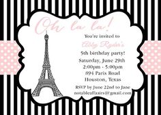 Hey, I found this really awesome Etsy listing at http://www.etsy.com/listing/154905110/oh-la-la-paris-party-theme-invitation