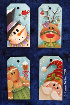 "# 687 ""Feliz Navidad Etiquetas"" (MODELO)"
