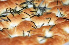 Rosemary Focaccia Bread - no kneading needed!