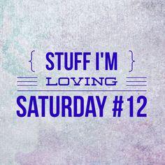 Stuff I'm loving Saturday #12 includes Boppys, coconut milk, and Unbreakable Kimmy Scmidt!
