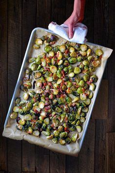 Roasted Brussels Sprouts and Bacon - Nom Nom Paleo® Roasted Brussel Sprouts Bacon, Brussels Sprouts Recipe With Bacon, Roasted Vegetables, Tacos And Salsa, Sugar Free Bacon, Paleo Side Dishes, Nom Nom Paleo, Whole Foods Market, Roast Recipes