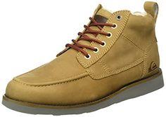Quiksilver Jax Deluxe - Zapatos de Cordones para Niños, Marrón, 41