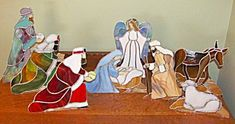 stained glass nativity patterns | NATIVUTY STAINED GLASS PATTERN | Browse Patterns #StainedGlassNativity