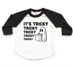 """""""It's tricky to rock a rhyme, to rock a rhyme thats right on time. It's tricky! Tricky, tricky, tricky, tricky!"""" It's also tricky to find a Halloween tee that's worth rocking all year 'round like this"""